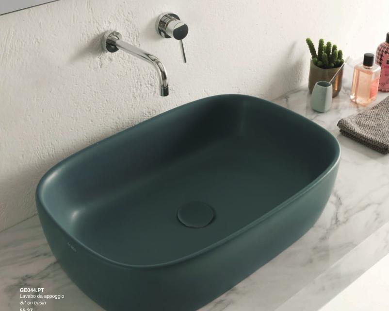 Sanitari filo parete ceramica globo bowl wc bidet sedile